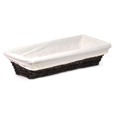 Savannah Slim Bread Basket with Cloth Liner -