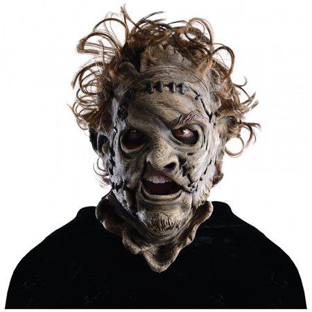 - Leatherface 3/4 Mask Adult Adult Costume Mask