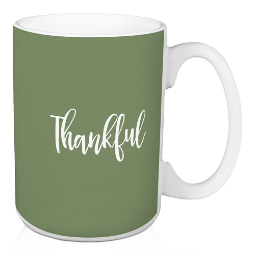 Winston Porter Noyes Thankful Coffee Mug