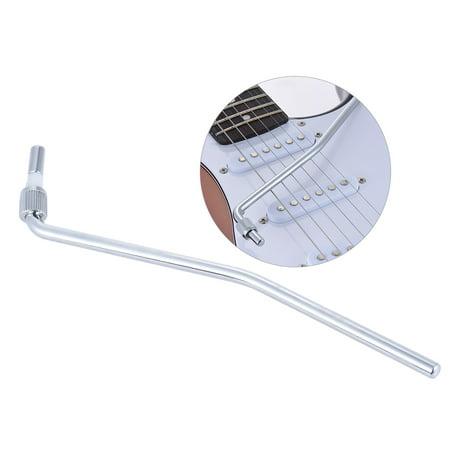 Electric Guitar Tremolo Trem Vibrato Arm Whammy Bar Crank Lever for Floyd Rose Bridge System Silver