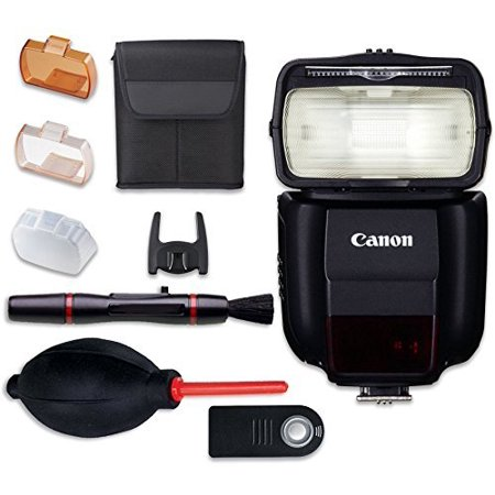 Canon Speedlite 430EX III-RT Flash with Cleaning Pen + Dust Blower + Remote Control