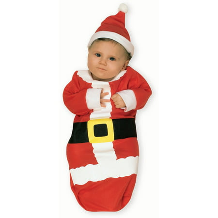 Santa Claus Bunting Costume - 0-6 Months