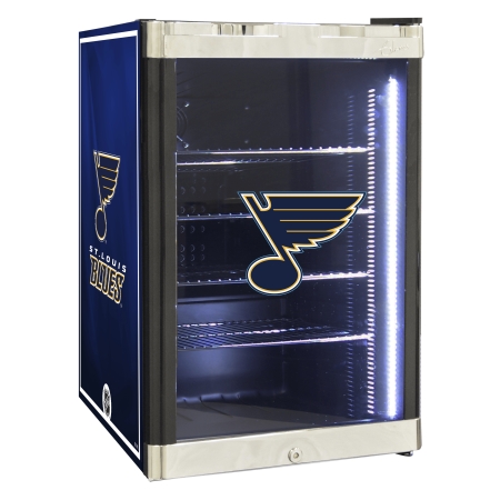 NHL Refrigerated Beverage Center 2.5 cu ft St. Louis Blues by