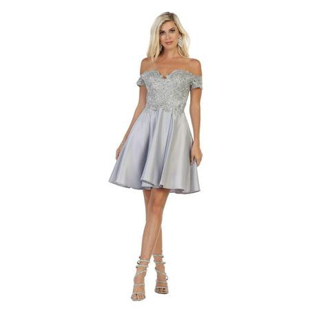 17bd9b677d9e Formal Dress Shops Inc - HOMECOMING SEMI FORMAL DANCE DRESS - Walmart.com