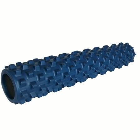 RumbleRoller Original Soft Full-Size Exercise Roller, Blue ()
