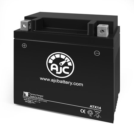 Duralast CTX14-BSFP Replacement Battery This is an AJC Brand Replacement