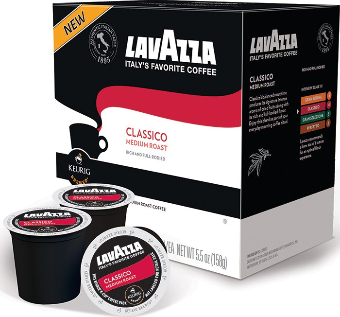 'Lavazza Classico Keurig 2.0 K-Cup Pack, 16 Count