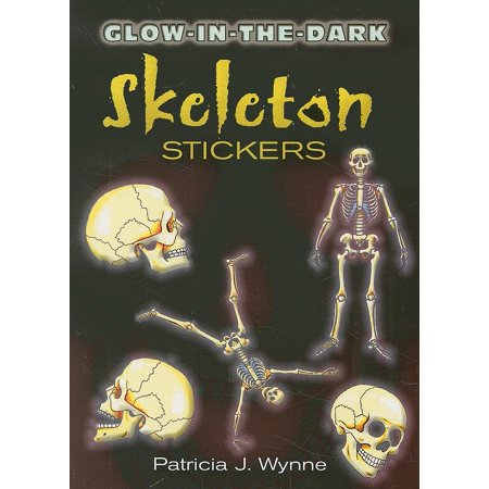 Dover Little Activity Books Stickers: Glow-In-The-Dark Skeleton Stickers (Other)