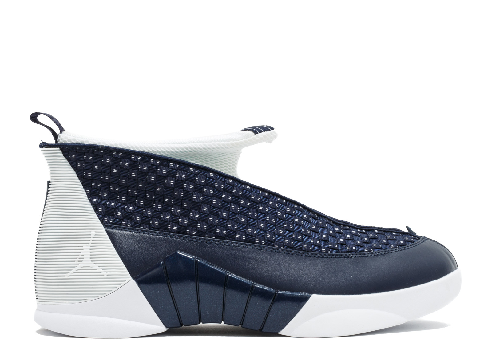 Mens Air Jordan Retro 15 XV Obsidian White Metallic Silver 881429-400 - Walmart.com