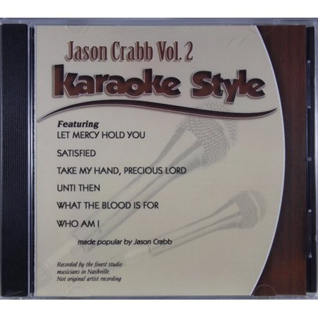 Jason Crabb Volume 2 Daywind Christian Karaoke Style NEW CD+G 6 Songs - Jason Song Halloween