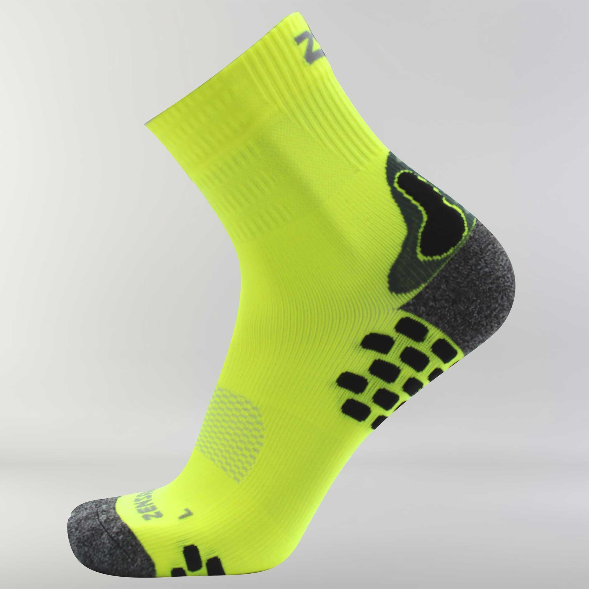 3D Dotted Socks L / Neon Yellow