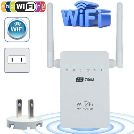 EEEKit Dual Band Wi-Fi Range Extender Wireless Repeater IEEE 802.11a/b/g/n & 802.11ac Booster Signal Amplifier