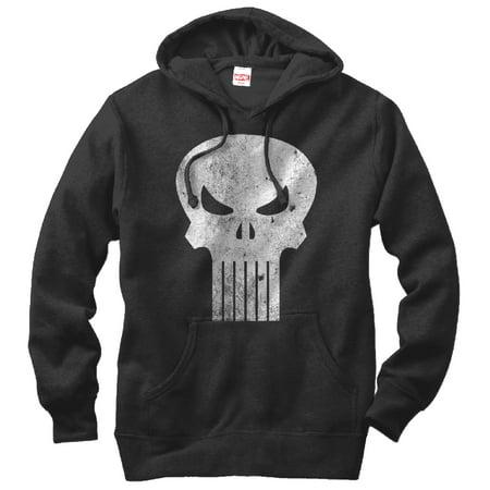 Marvel Men's Punisher Skull Symbol - Symbol Kids Hoodie