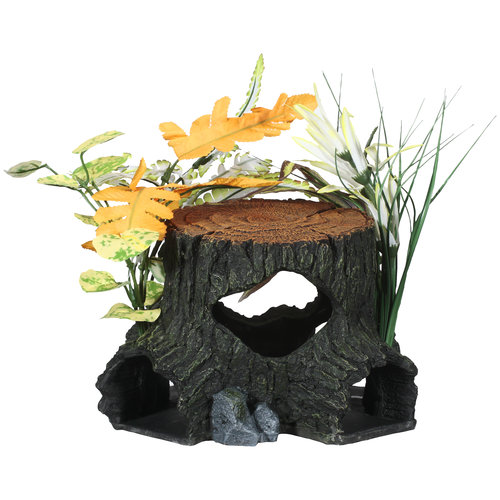 Aqua culture medium rock aquarium ornament for Walmart fish supplies