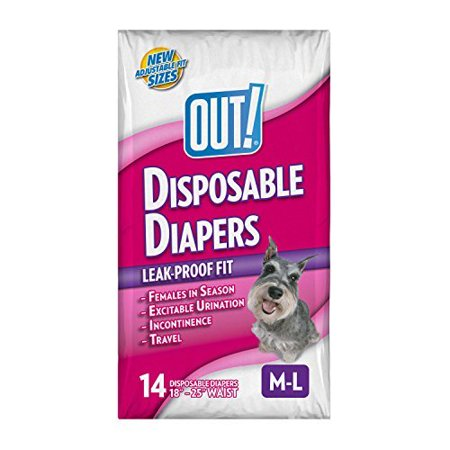 Disposable Dog Diapers By    Out  Disposable Dog Diapers By Out