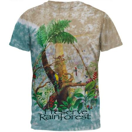 Rainforest Tie Dye T-Shirt
