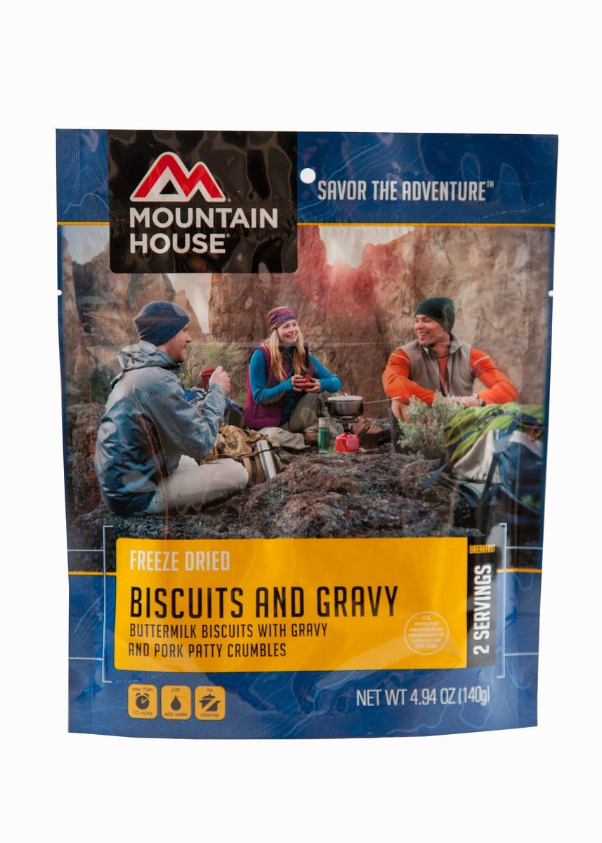 Biscuits and Gravy POUCH, USA, Brand Mountain House by