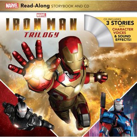 Iron Man Trilogy Read-Along Storybook and CD (Halloween Story Read Along)