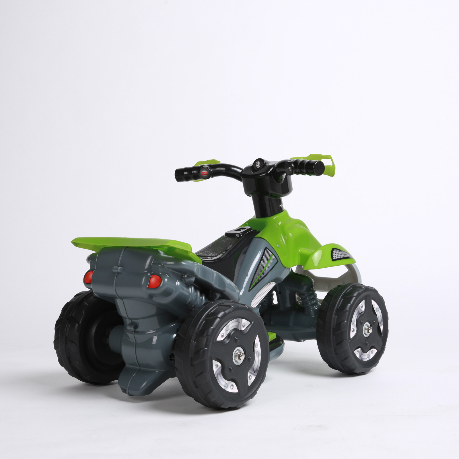 Kids Ride On 6V Battery Powered ATV Quad, Green
