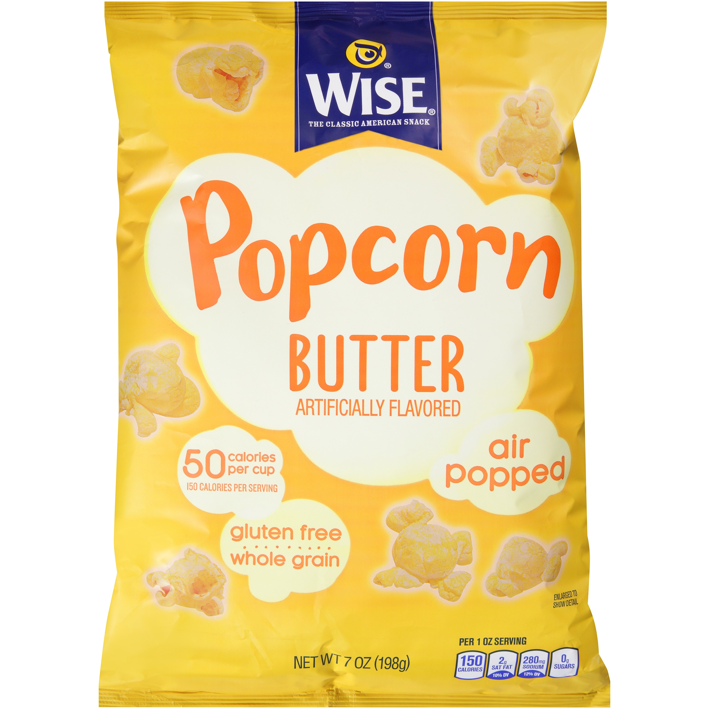 Wise® Popcorn Butter 7 oz. Pack