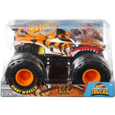 Hot Wheels Monster Trucks Tiger Shark Vehicle