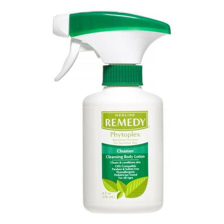 Medline Remedy Phytoplex Cleansing Body Lotion, 8 Oz