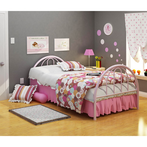 Rack Furniture Brooklyn Metal Twin Bed, Multiple Colors