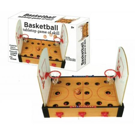 Wooden Tabletop Basketball Game