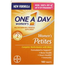 Multivitamins: One A Day Women's Petites