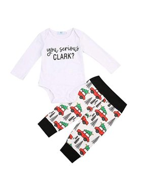 Baby Girl Bodysuits Long Sleeve Shirt Tops Bow Pants Headbands Sequined 3pcs Christmas Newborn Baby Kids Clothes 0-24m Mother & Kids