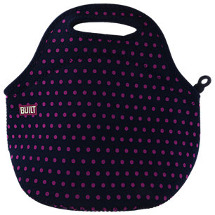 Built Gourmet Getaway Lunch Tote - Mini Dot Navy