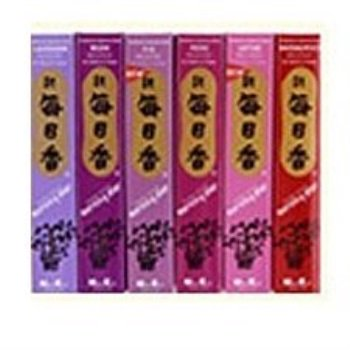 nippon kodo morning star 6 new fragrance assortment (cinnamon, lotus, gardenia, vanilla, green tea, and lavender)