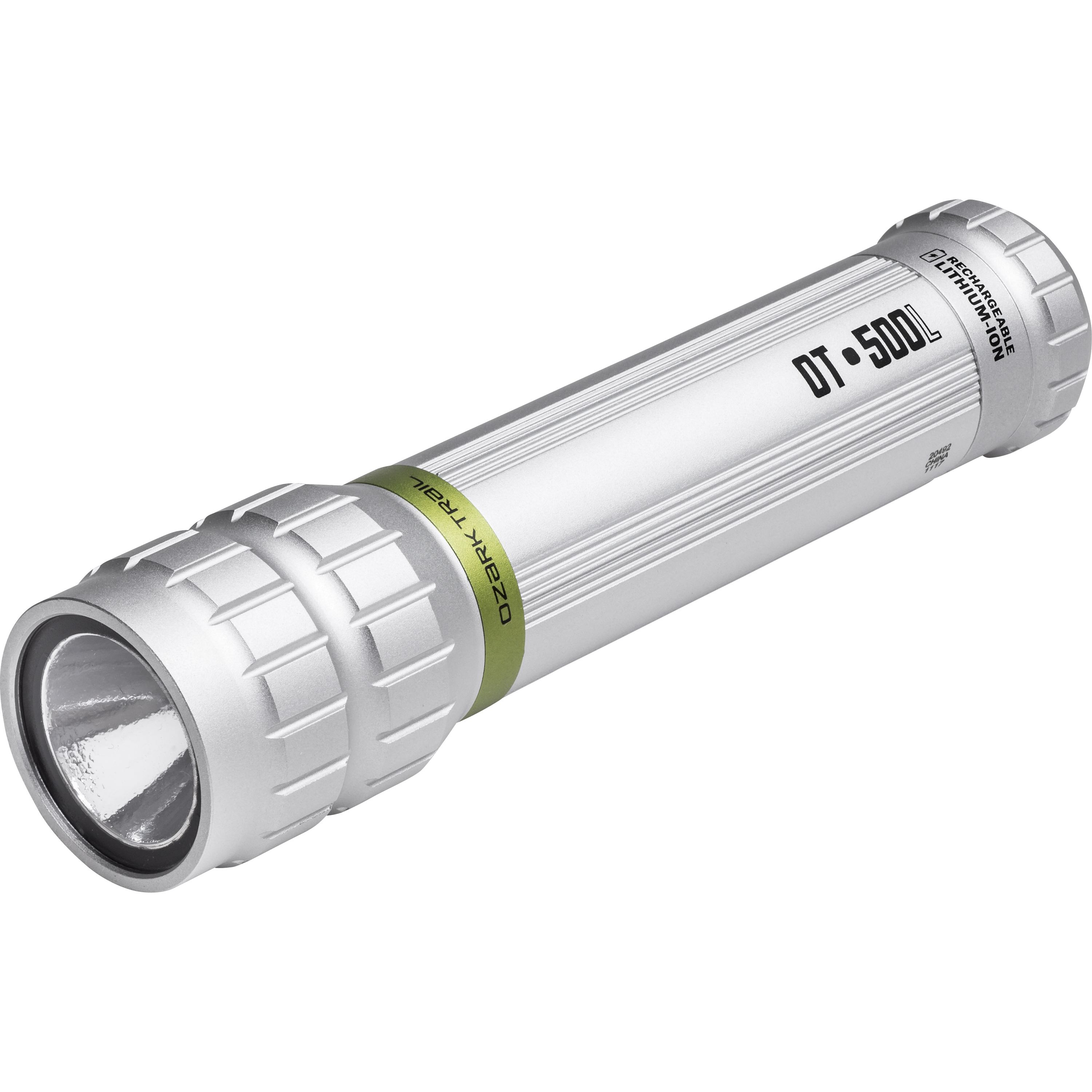 Ozark Trail Outdoor Equipment 500 Lumen Rechargeable Flashlight