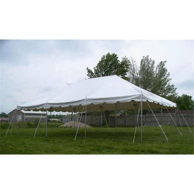 Celina Tents 20x30prestogalv 20x30 White Presto! Over the Counter Pole Galvanized Tent