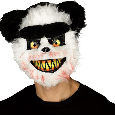 Adult Killer Panda Halloween Mask](Panda Express Halloween Deals)
