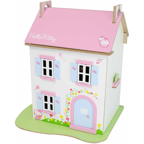 Hello Kitty Cupcake Cottage Dollhouse