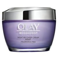 Olay Regenerist Night Recovery Cream Face Moisturizer, 1.7 oz