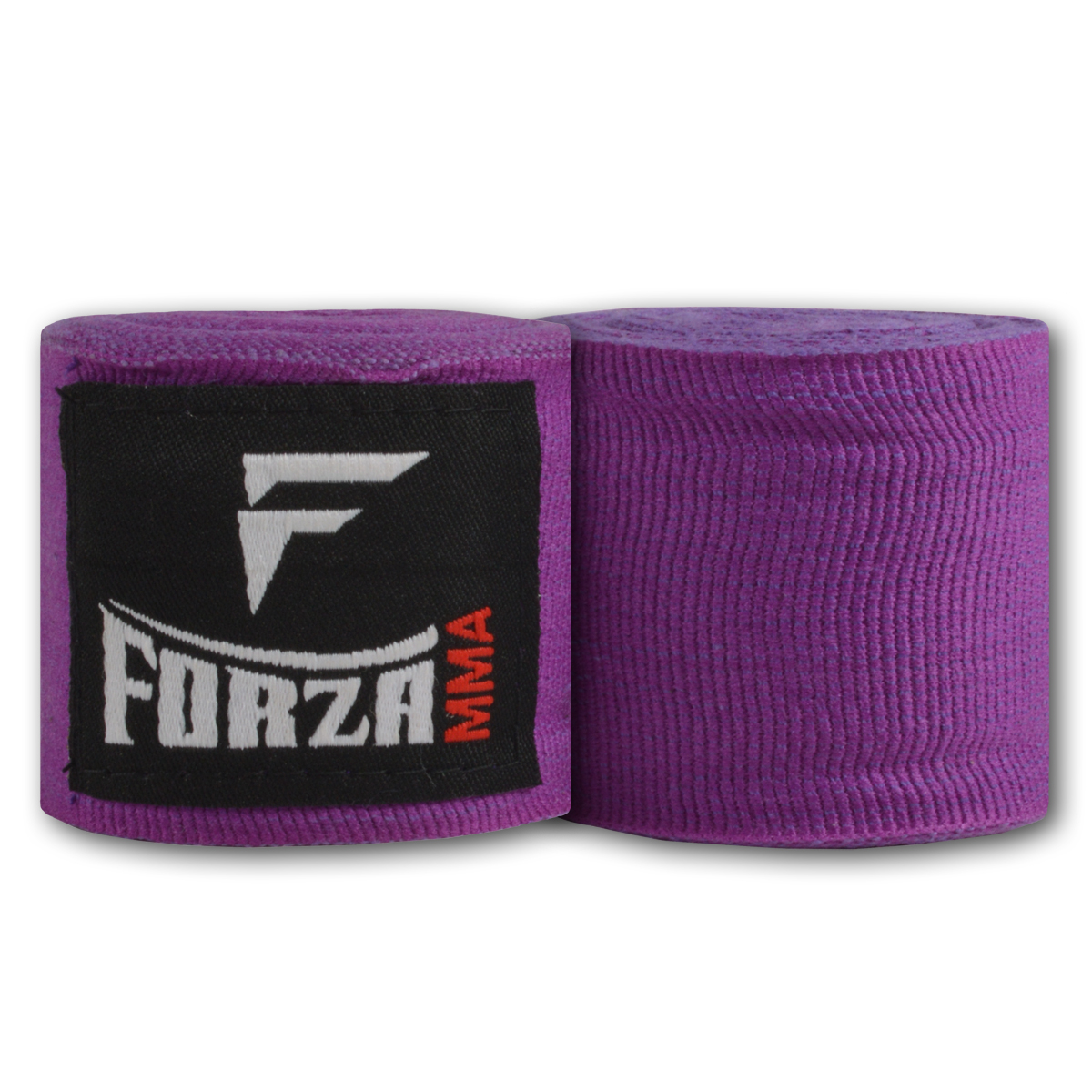 """Forza Sports 180"""" Mexican Style Boxing and MMA Handwraps - Purple"""