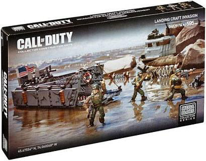 Mega Bloks Call of Duty Landing Craft Invasion Set #06829 by Mega Brands