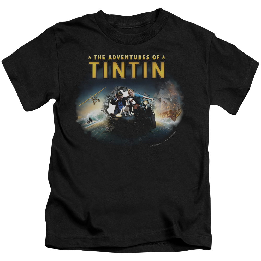 Tintin Journey Little Boys Juvy Shirt
