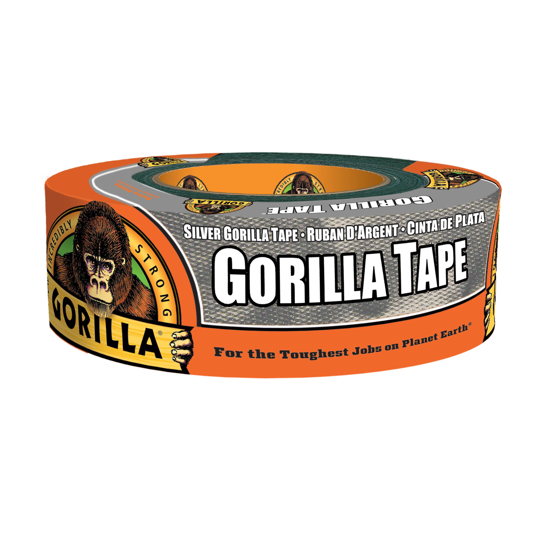 Gorilla Tape, 35yd Silver