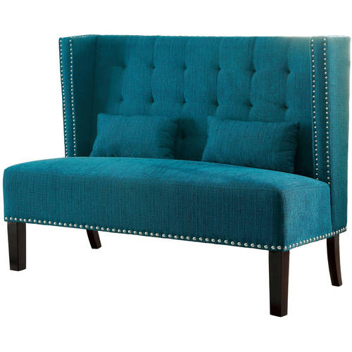 Furniture of America Shipley Love Seat Bench, Multiple Colors