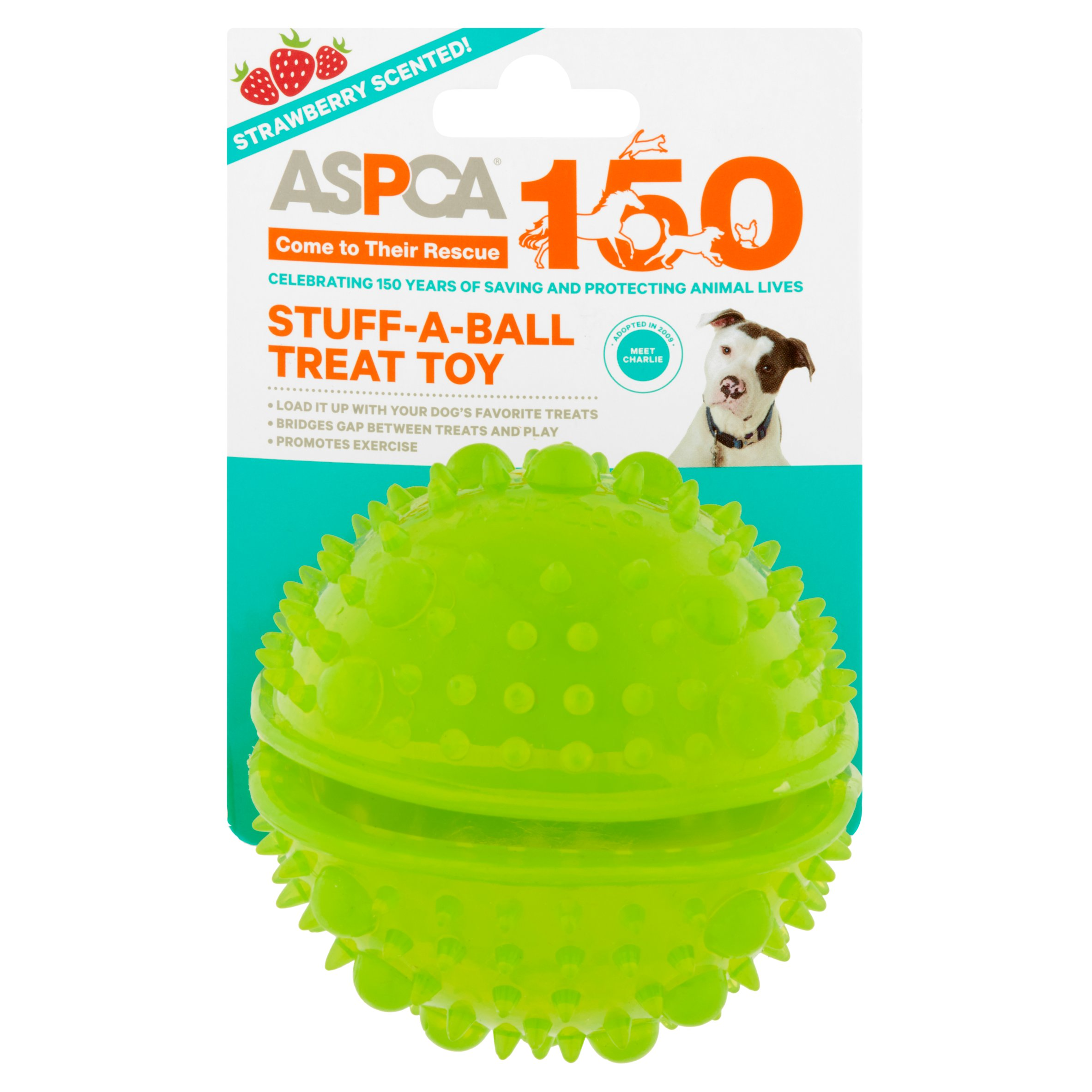 ASPCA STUFF-A-BALL TREAT Dog Toy
