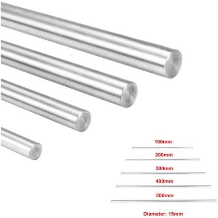 Meigar 100-500mm OD 15mm 3D Printer Chromed Smooth Rod