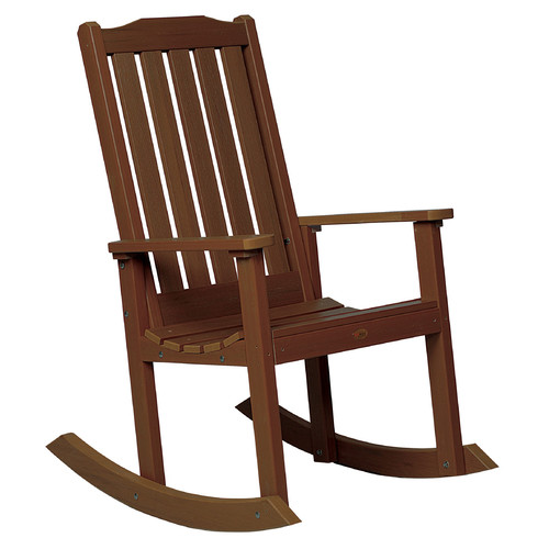 Buyers Choice Phat Tommy Lynnport Teak Rocking Chair