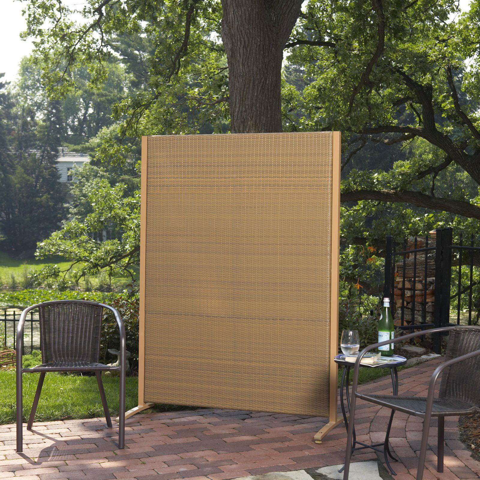 Versare Outdoor Wicker Resin Room Divider