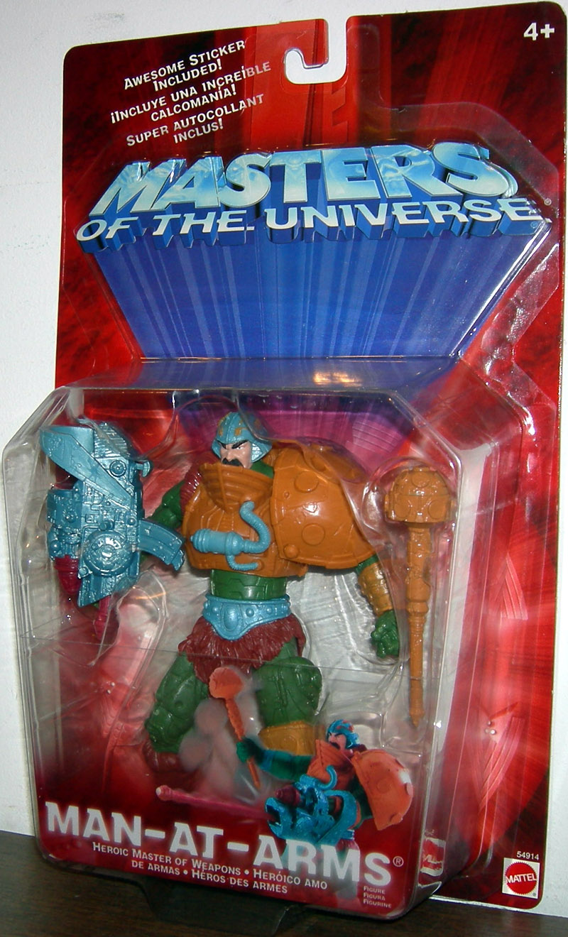 Mattel Masters Of The Universe MAN-AT-ARMS: Heroic Master Of Weapons Action Figure New! by