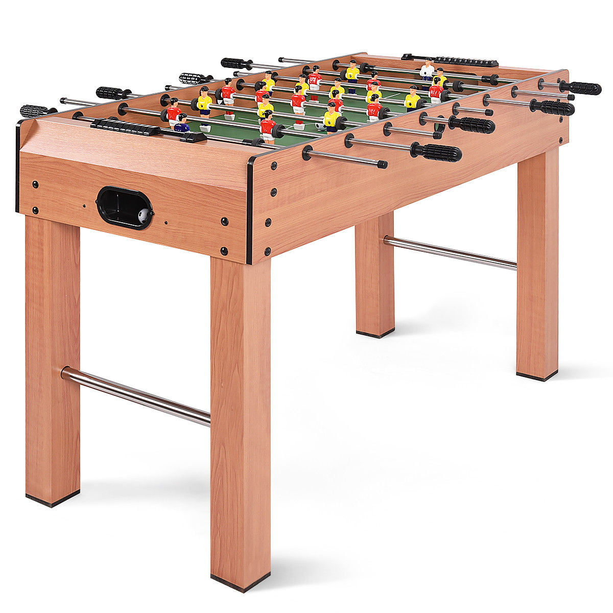Costway 48 Foosball Table Competition Game Soccer Arcade Sized Football Sports Indoor Walmart Com Walmart Com