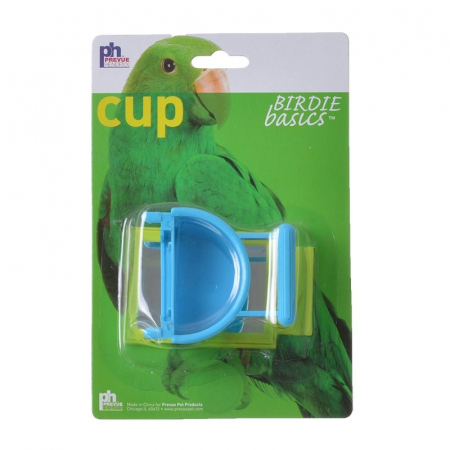 Prevue Birdie Basics Cup With Mirror - 1 Pack - 1.5 oz - (Assorted Colors)