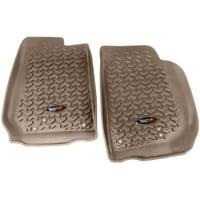 Floor Liner Kit, Tan, 07-16 Jeep Wrangler JK